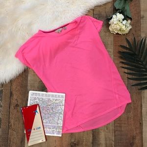 Ted Baker London Hot Pink T-Shirt Short Sleeves